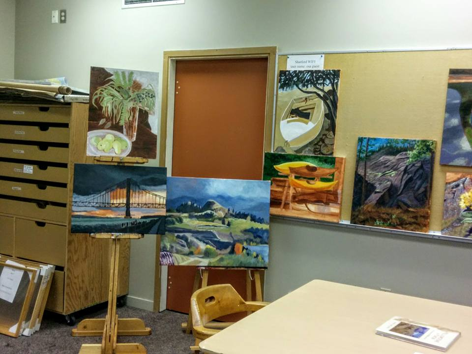 More paintings from Oct 2016 Shatford OSA                         workshop