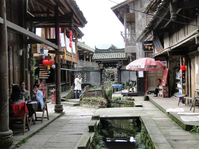 Centre of ancient town of Shangli