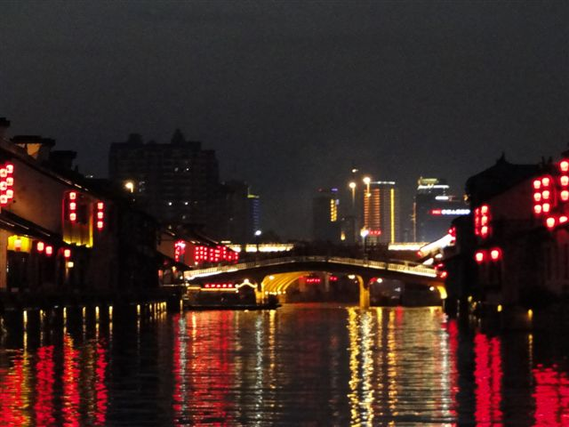 Amazing night lights in Wuxi