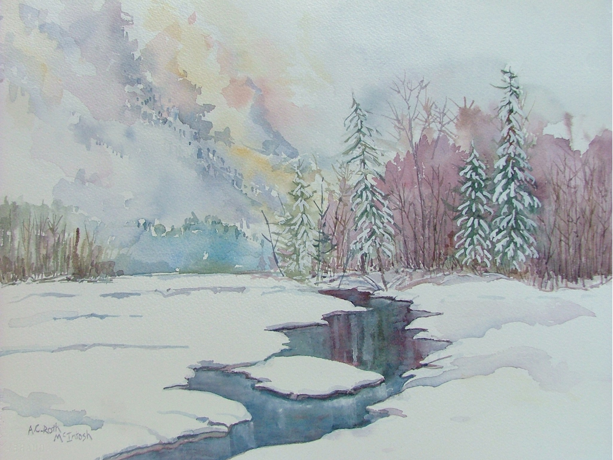 Bear River in Winter