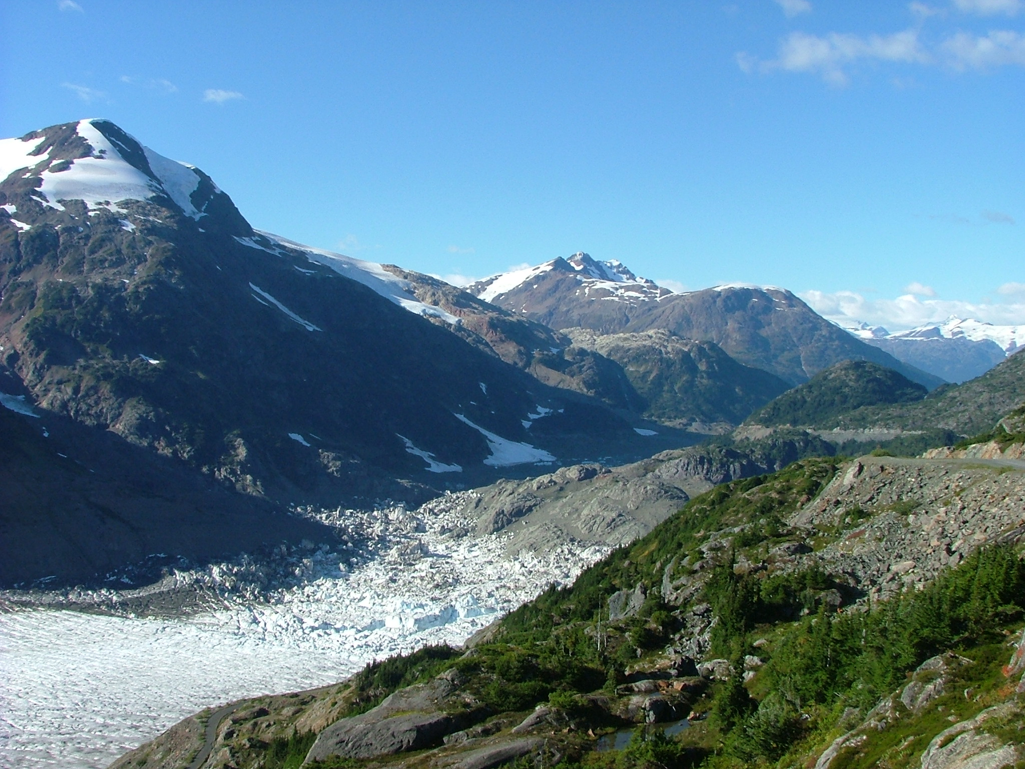East End of Salmon Glacier