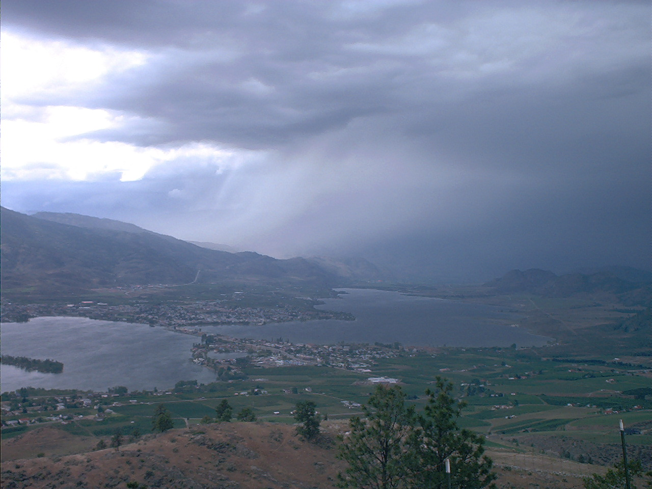 Storm over Osoyoos
