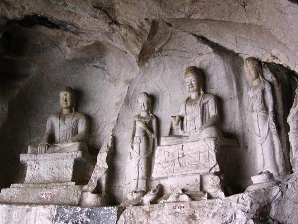 Buddha Carvings in Fubo Park